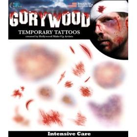 Tatouages Temporaires Horreur Urgence