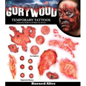 Tatouages temporaires Horreur Grand Brule