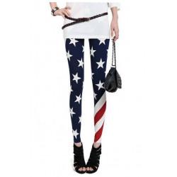 Leggings drapeau américaine