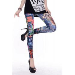 Leggings femme tattoo art