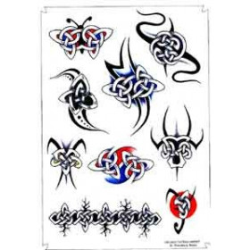 Tatouage Celtique Tribal autocollant