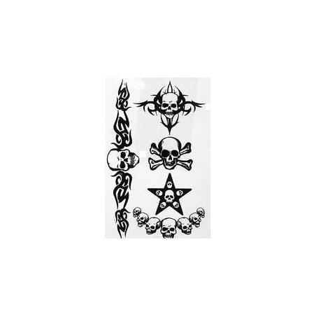 Planche Tattoo autocollant
