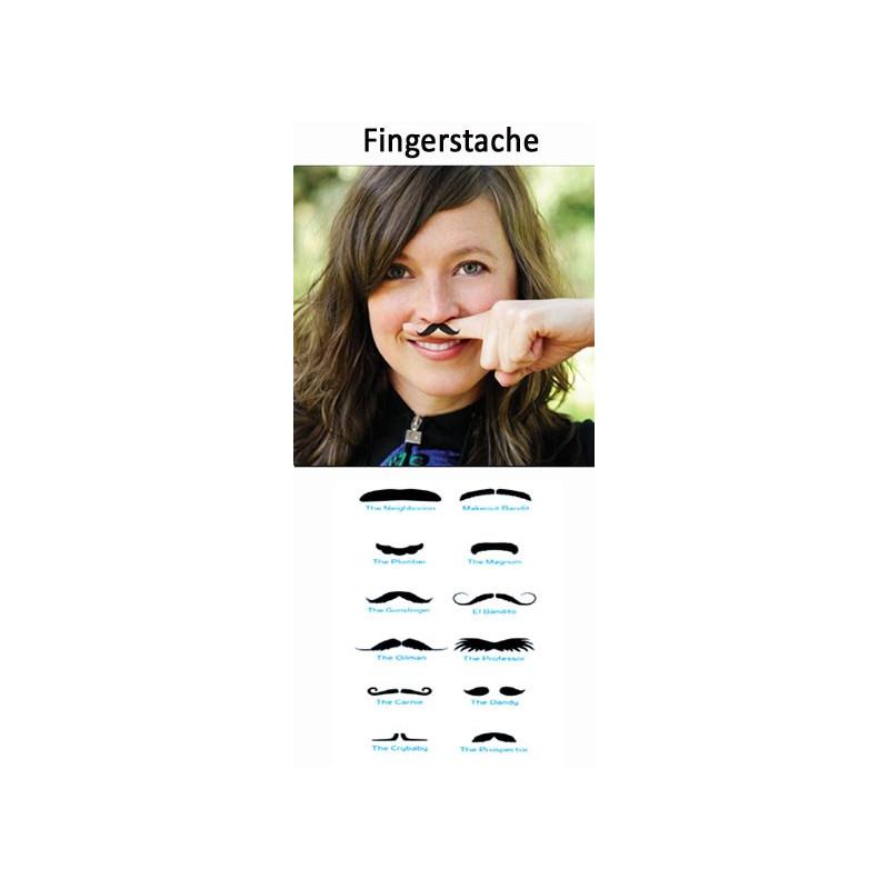 Fingerstache Tatouages temporaires