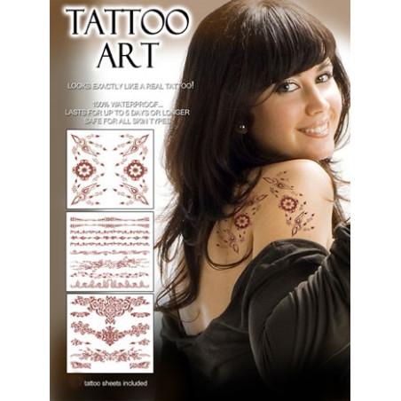 Tatouages temporaires Henna