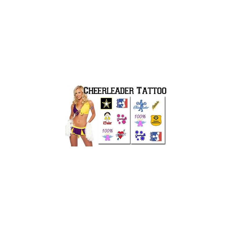 Tatouages temporaires Cheerleader