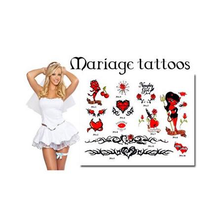 Tatouages temporaires pour le Mariage