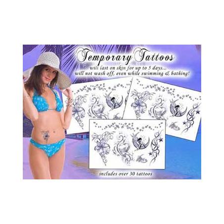 Tatouages Pack Temporaires Elfes et Fées