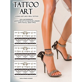 Tatouages Pack autocollants Skin Chaines