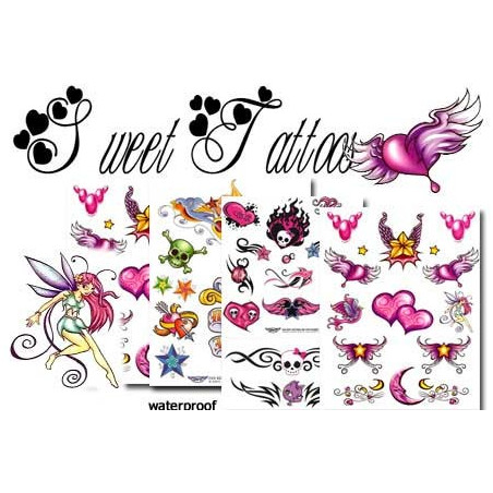 Sweet Tattoos Pack temporaires
