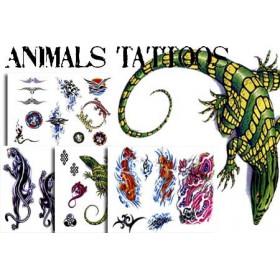 Tatouages temporaires Animals