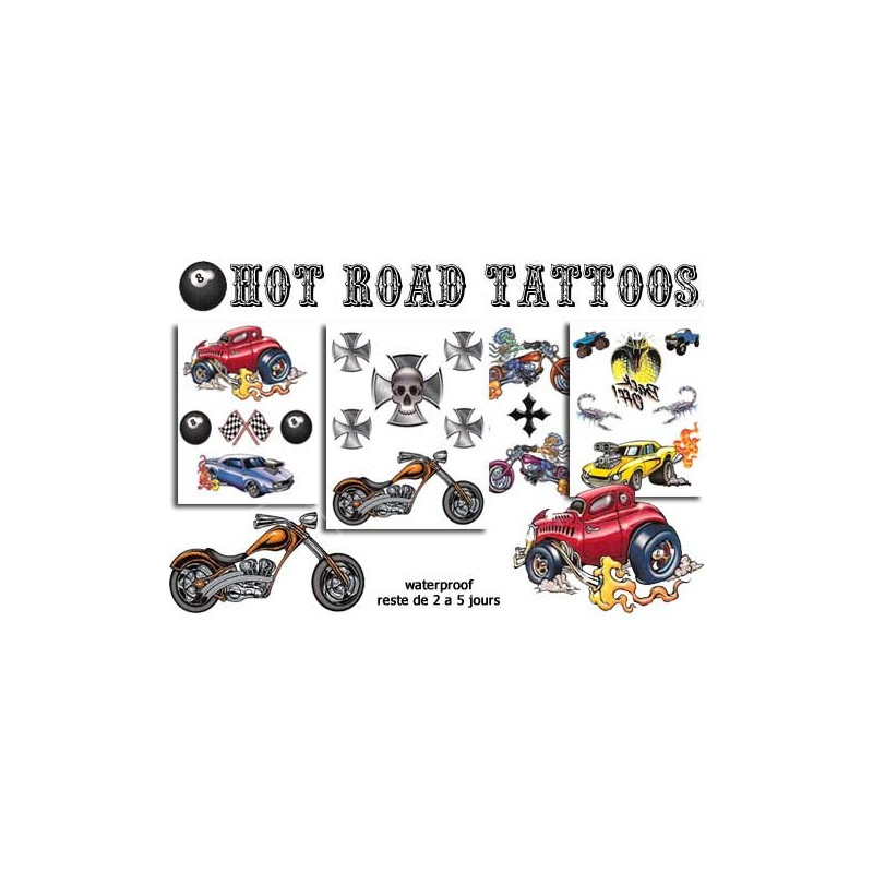 Hot Road Tattoos