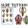 Tattoos autocollants Surf Hawaii