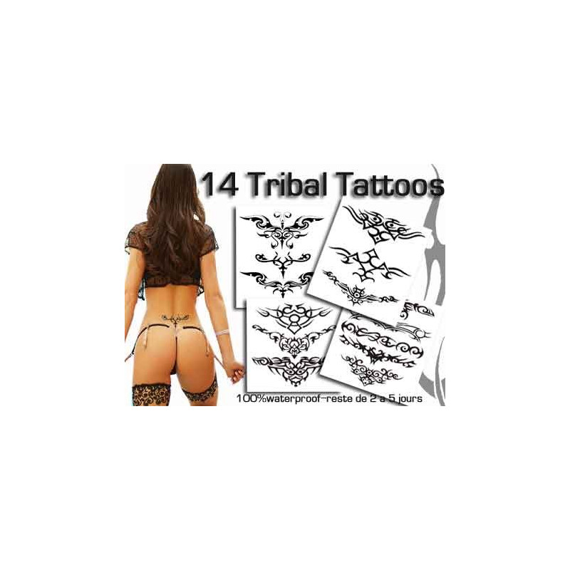 Tattoos autocollants bas de dos Tribal