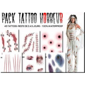 Tattoos autocollants FX Horreur