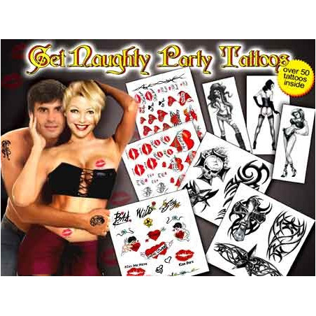 Get Naughty Pack Tattoos