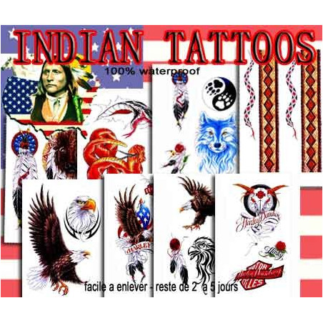Indian Pack Tattoos