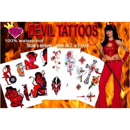 Devil Pack Tattoos