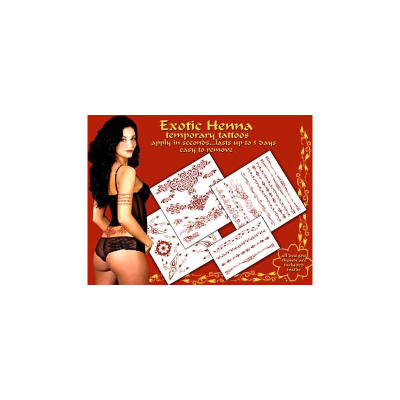 Exotique Henna tattoos