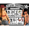 Texas tattoos temporaires