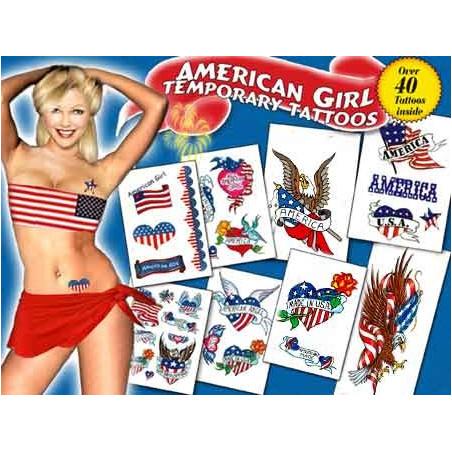 American Girl Tattoos