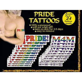 Pride Tattoos Men