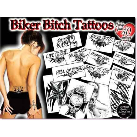 Biker Bitch Tattoos