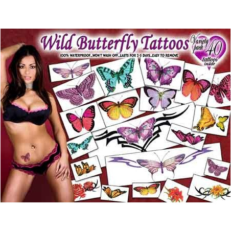 Wild Butterflys Tattoos