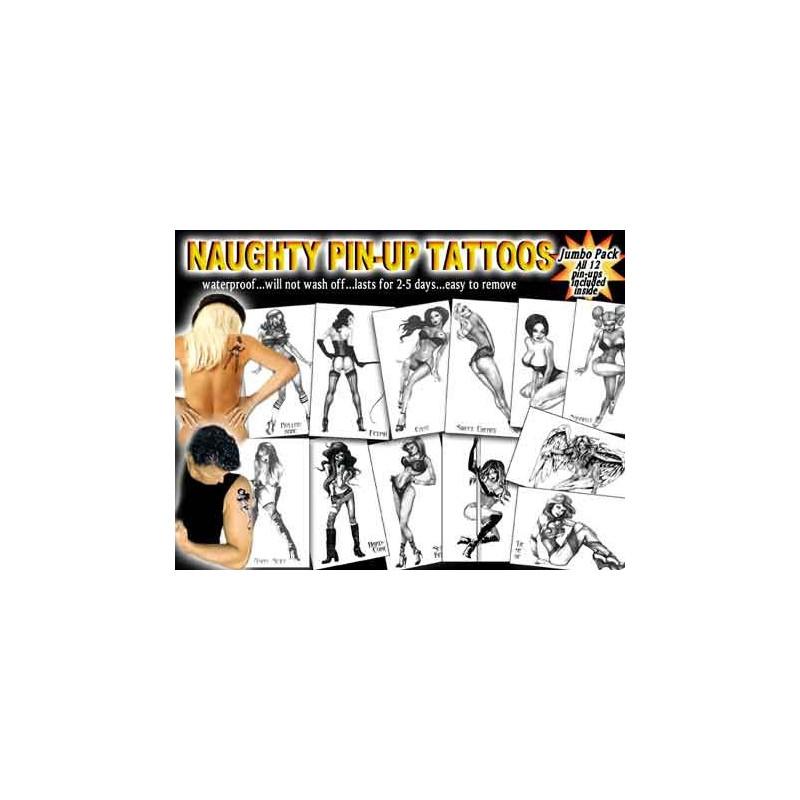 Naughty Pin up Tattoos