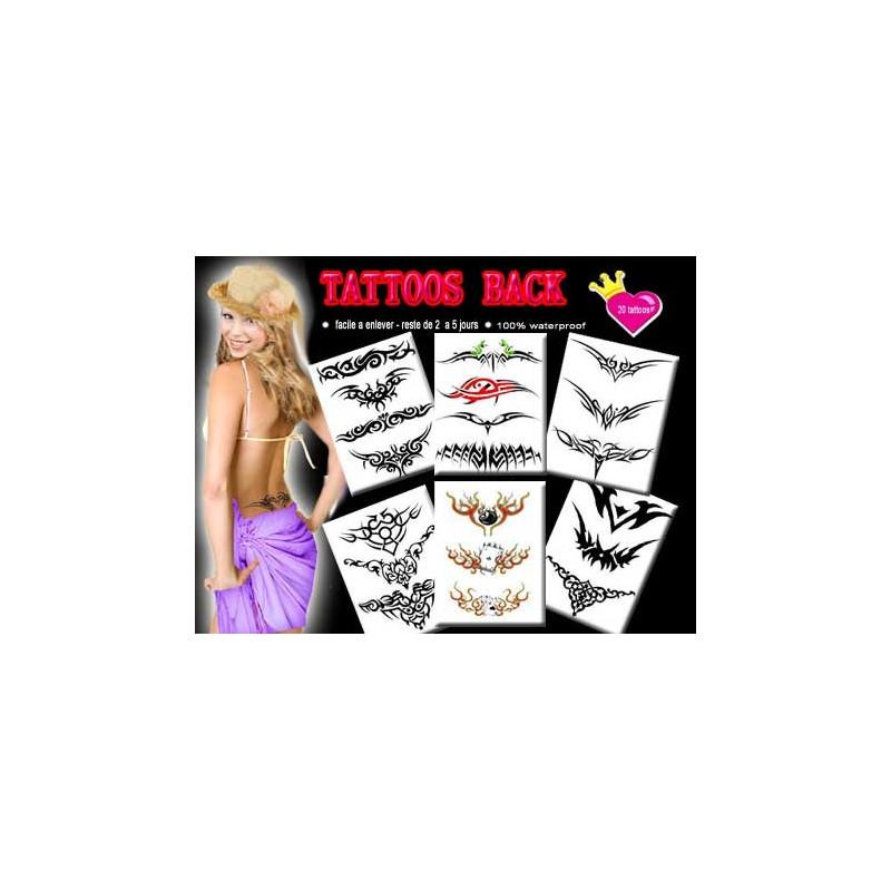 Pack tatouage Bas de dos
