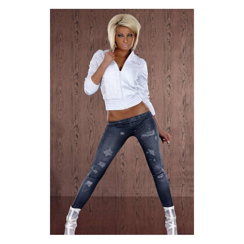 Leggings pour femme imitation jeans marque Tarawa