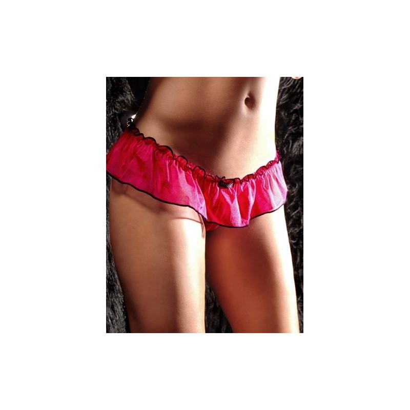 String jupette sexy de couleur rose pour femme glamour chic