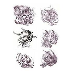 Tattoo Japonais autocollant