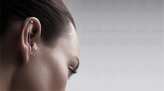 piercing oreille tragus hélix